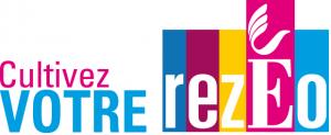 Logo de Rezéo,  l'association des entreprises de Rezé