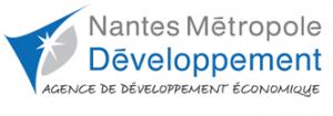 Logo de l'Agence de développement éconimique de Nantes Métropole